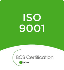 Certification BCS APAVE ISO 9001